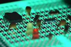 Elektronische Bauelemente Lizenzfreies Stockbild