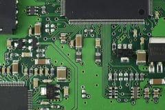 Elektronische Bauelemente/Makrotrieb lizenzfreie stockbilder