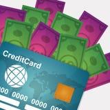 Elektronische betaling en technologie Stock Afbeeldingen