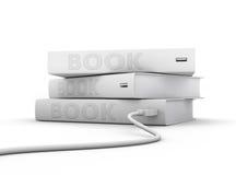 Elektronische boeken Stock Afbeeldingen