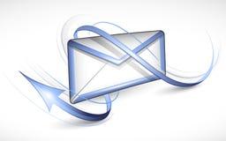 Elektronische brief vector illustratie
