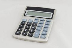 Elektronische calculator Royalty-vrije Stock Foto