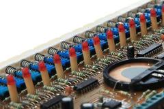 Elektronische componenten Stock Fotografie