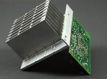 Elektronische componenten Royalty-vrije Stock Foto's