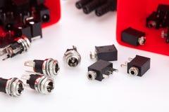 Elektronische componentenhefboom Royalty-vrije Stock Afbeeldingen