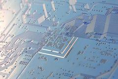 Elektronische dichte omhooggaand van de kringsraad Stock Fotografie