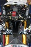 Elektronische doos en verbinding BMW S1000 rr Superbike WSBK Stock Afbeeldingen