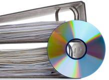 Elektronische gegevensopslag Stock Afbeelding