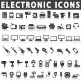 Elektronische Geräte lizenzfreie abbildung