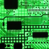 Elektronische halfgeleider Stock Foto