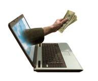 Elektronische handel stock afbeeldingen