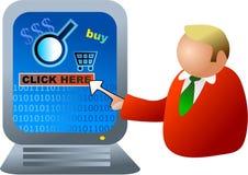 Elektronische handel Stock Afbeelding