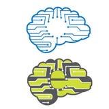 Elektronische hersenen Royalty-vrije Stock Foto