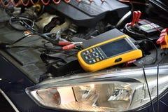 Elektronische het hulpmiddel dichte omhooggaand van de motordiagnostiek stock afbeeldingen