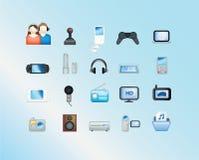 Elektronische illustratie Stock Afbeelding