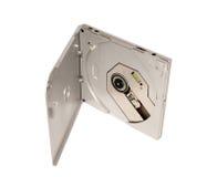 Elektronische inzameling - Draagbare externe slanke CD DVD aandrijving Stock Afbeeldingen