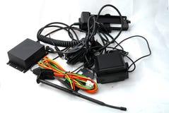 Elektronische kabels stock foto