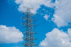 Elektronische Kraftübertragung Lizenzfreie Stockfotografie