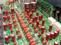 Elektronische Kreisläufe Stockbild