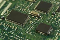 Elektronische Kring Stock Foto
