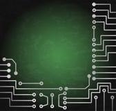 Elektronische kring vector illustratie