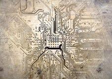 Elektronische kringen vector illustratie