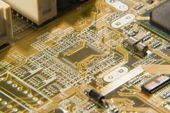 Elektronische kringen Royalty-vrije Stock Afbeelding