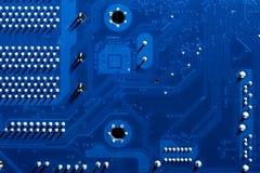 Elektronische kringen in futuristisch technologieconcept royalty-vrije stock foto's