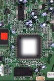 Elektronische kringsclose-up Stock Afbeelding