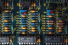 elektronische kringsraad Stock Foto's