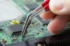 elektronische kringsraad Stock Foto