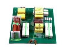 Elektronische Lautsprecherüberkreuzung Lizenzfreies Stockfoto