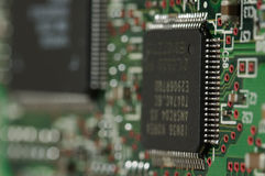 Elektronische Leiterplatte stockfotografie