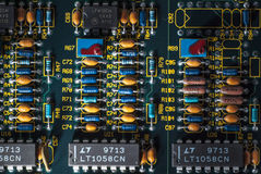 elektronische Leiterplatte Stockfotos