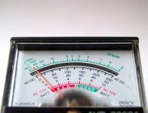 Elektronische maatregel Stock Foto
