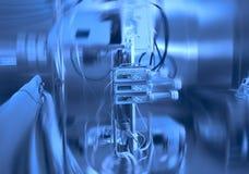 Elektronische medische apparatuur in de chirurgieruimte Stock Foto