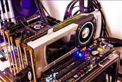 Elektronische motherboard Stock Fotografie