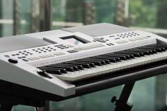 Elektronische Orgel Stockfotografie