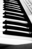 Elektronische piano stock foto