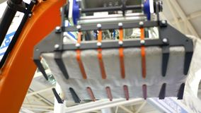 Elektronische Produktion automatisiert stock footage