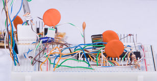 Elektronische prototyping Royalty-vrije Stock Foto