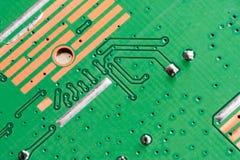 Elektronische PWB-Leiterplatte Stockfotos