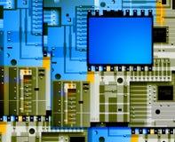 Elektronische raad Stock Afbeelding