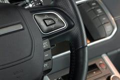 Elektronische Reisegeschwindigkeitskontrolle, tempomat Stockbild