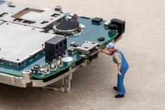 Elektronische reparatie Royalty-vrije Stock Foto's