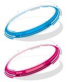 Elektronische ring vector illustratie