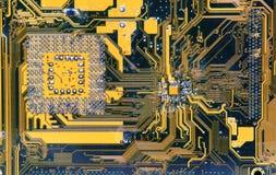 Elektronische Schaltung stockfoto