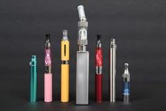 Elektronische sigaretten Stock Afbeelding