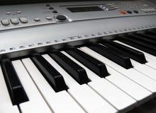 Elektronische Tastatur Stockbild