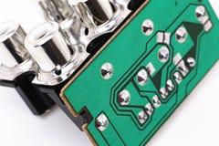 Elektronische Teile Lizenzfreies Stockbild